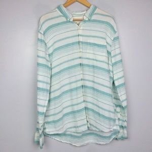 American Eagle Seriously Soft Linen Blend Top